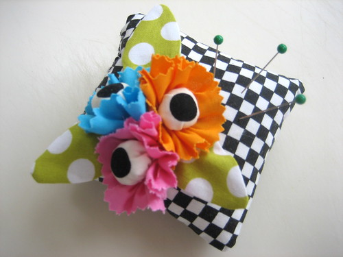 Scrappy Pincushion #3