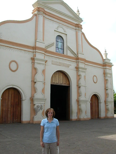 June 9 2010 Ruth at Masaya church