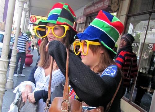 Mundial Sudáfrica gafas grandes