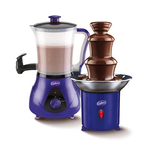 Cadbury Hot Chocolate Drink Maker and Cadbury Mini Fountain