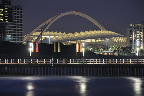 Moses Mabhida Before Sunrise