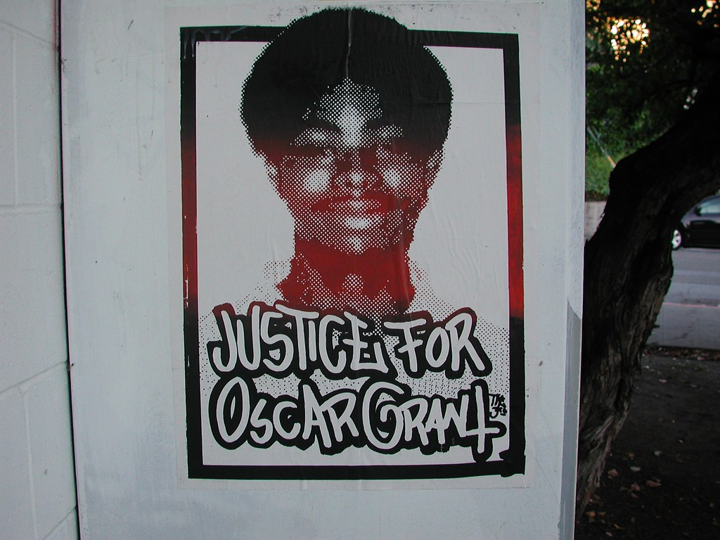 JUSTICE for OSCAR GRANT, Graffiti, Street Art, Oakland, NMG,