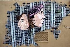 Janaundjs (dprezat) Tags: street urban streetart paris art painting stencil tag graf peinture jana aerosol js bombe pochoir bivre lzartsdelabivre sonyalpha700 janaundjs janajs