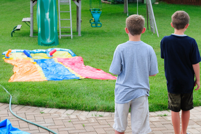 Sizing up the Slip and Slide