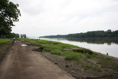 End of the Illinois River