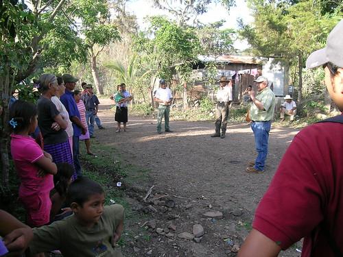 Asamblea comunitaria El Barro