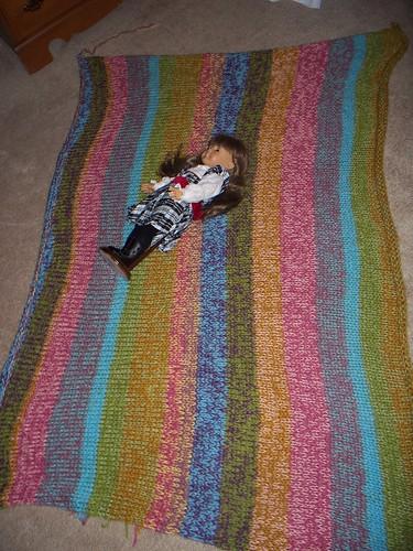 H's xmas blanket