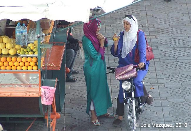 Vendedores de zumo. © Lola Vázquez, 2010