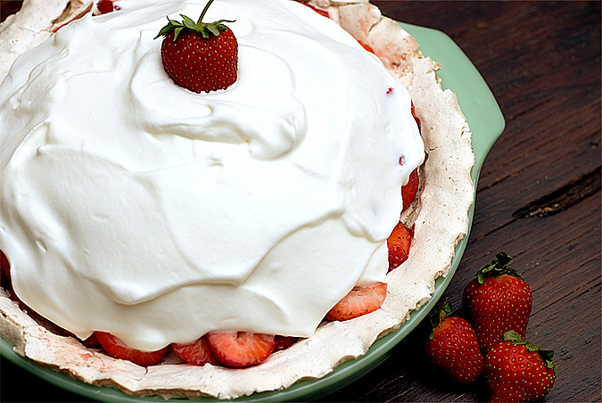 strawberry pie for blog