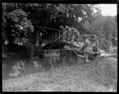 World War I New Zealand officers relax fishing, 1917 (National Library NZ on The Commons) Tags: soldiers nationallibrarynz