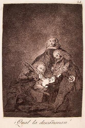 Francisco Goya, Los Caprichos, Plate 21