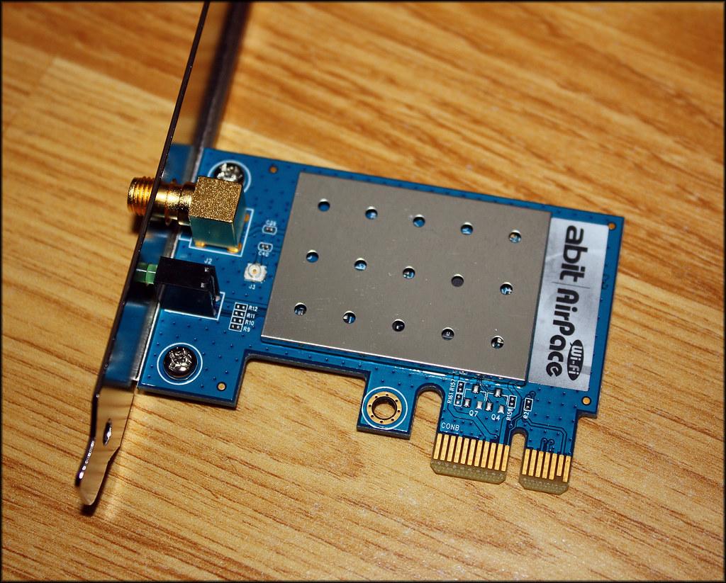 Abit AirPace PCI-E WiFi Card