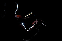 243 / 365 (Maralianna) Tags: man silhouette 50mm nikon rich reflected musical violin richard bow instrument acoustic backlit 365 day28 bounced 243 rimlight myman d90 rimlit rxa rxaphotos rxaphotography