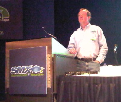 Chris Sherman at SMX Advanced