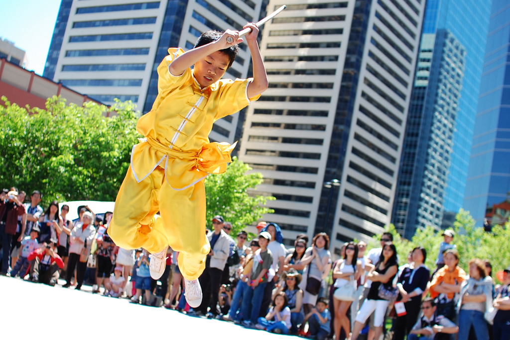 Calgary Chinatown Centennial Celebration on June 13th, 2010 - The Performances