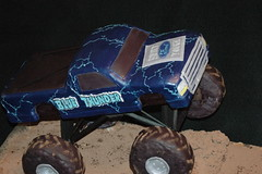 DSC_7914 (windysk) Tags: cakes monster cake truck carved bluethunder monstertruck carcake carvedcake bluethundercake