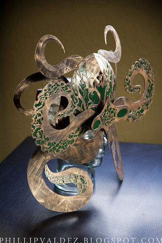 Octopus Mask-side view