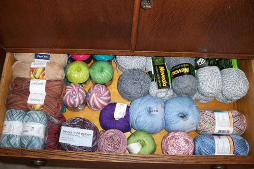 Sock Yarns - Drawer One