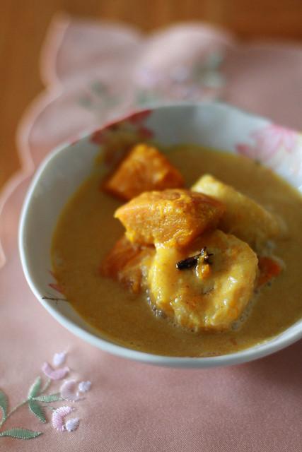 Creamy Spiced Pumpkin & Banana Dessert