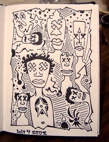 Sketchbook #9 - 2002