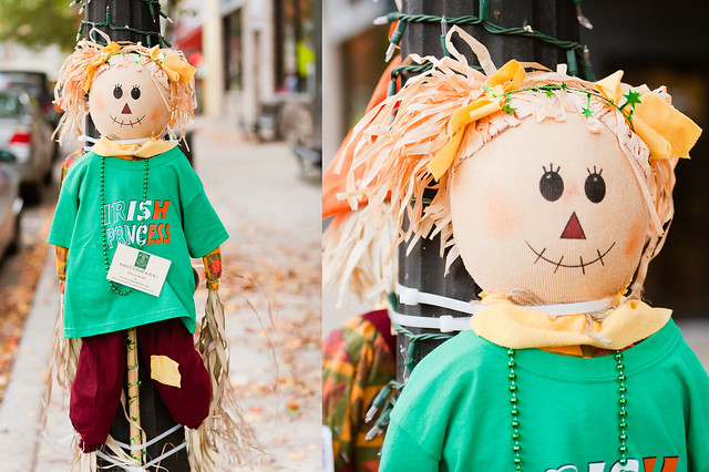 Scarecrows On Display Metuchen Living