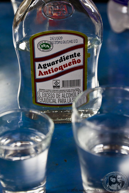 Aguardiente, A Local Alcohol