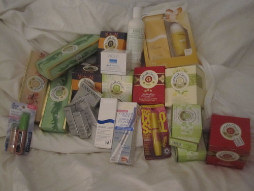 My loot from the L'Oréal sale