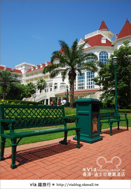 【香港住宿】跟著via玩香港(4)~迪士尼樂園酒店(外觀、房間篇)12