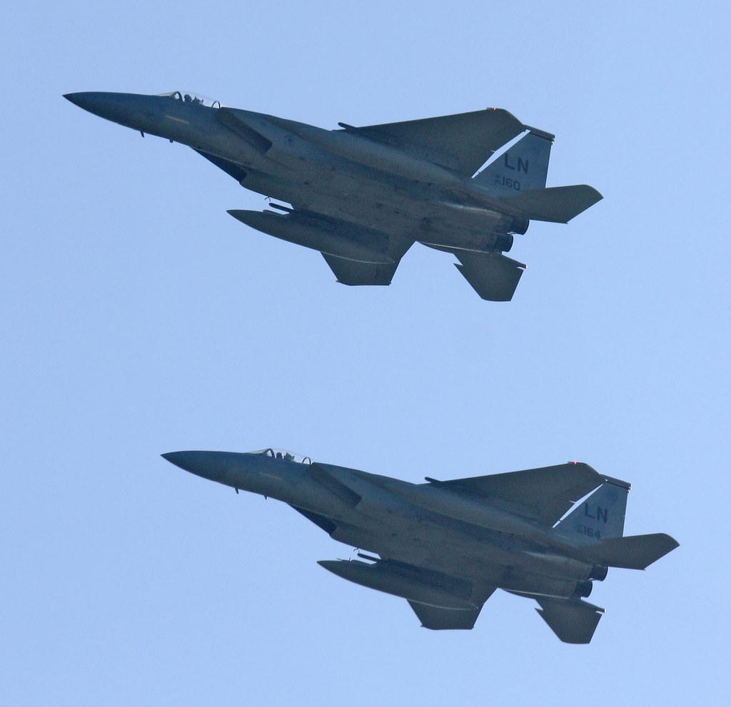 McDonnell Douglas F-15 Eagle-Duxford Oct 2010