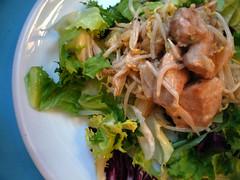 hähnchensalat mit ananas