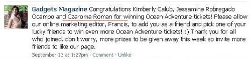 gadgets magazine, ocean adventure