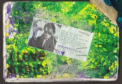 Friendship Book 1 Page 9 (testpatern) Tags: art collage pen vintage penguin book friendship mail fb stamps label pals books rubber sheets stamp labels sheet pal deco productions address penpal fbs penpals decos