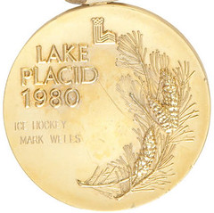 1980 Lake Placid Olympic Hockey gold medal reverse
