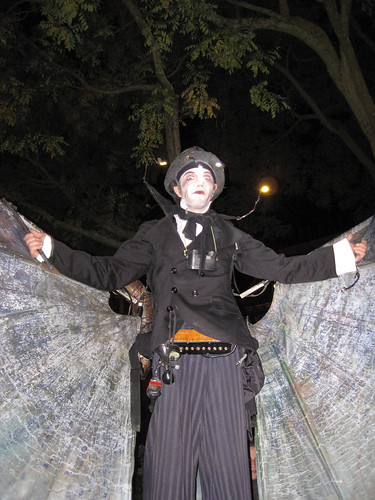 awesome steampunk Halloween costuming!