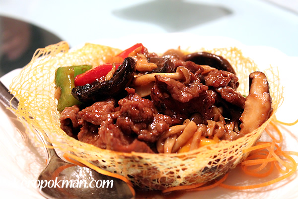 Sauteed Beef with Mushrooms
