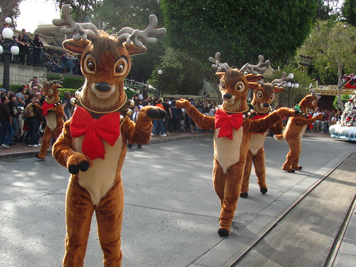 Taping of A Christmas Fantasy Parade for the Disney Parks Christmas Day Parade Special