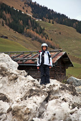 king of the snow mountain (Nathan A) Tags: travel ski mountains alps austria europa europe snowboard tux zillertal hintertux oesterreich tuxertal