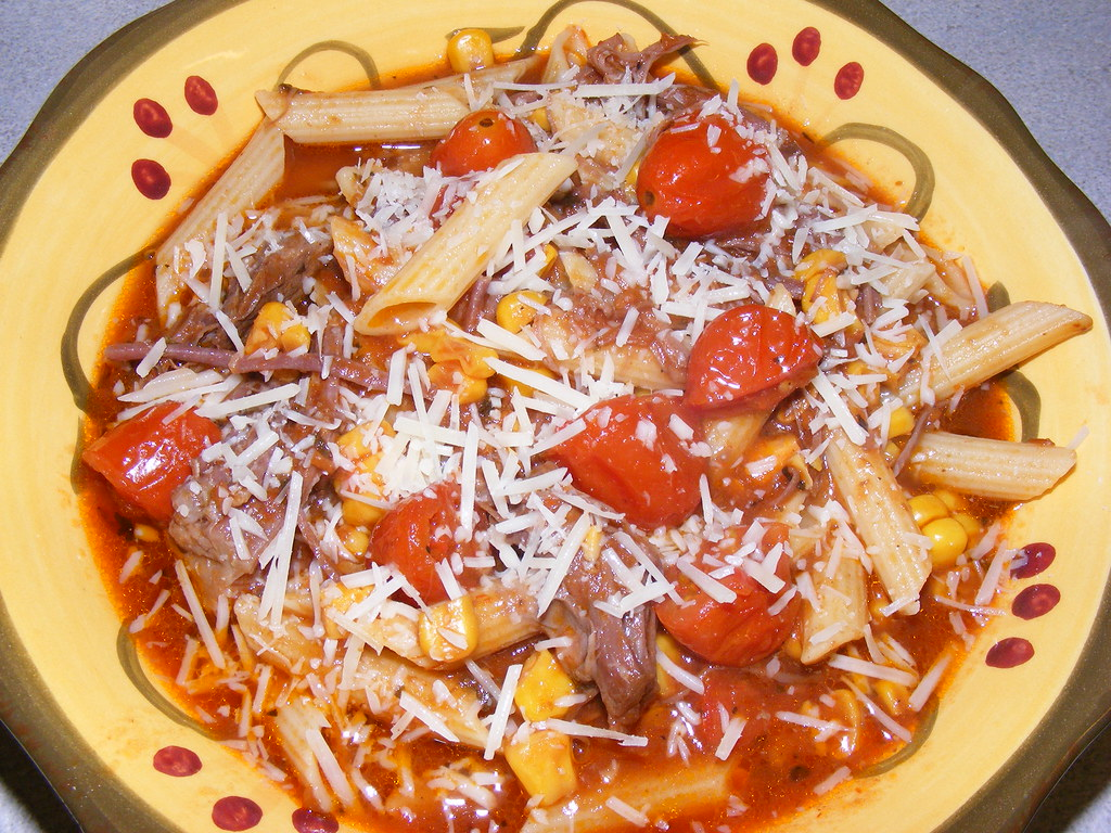 Diabetic friendly beef pasta