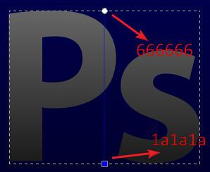2. ps gray gradient