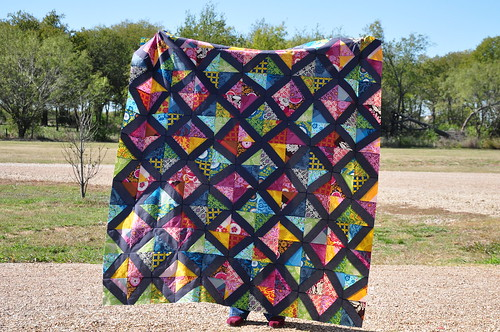 Wonky Good Folks Quilt Top