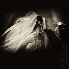 overflowing passion () Tags: auto wedding portrait white black love andy car flow groom bride kiss andrea andrew passion inside flowing bianco ritratto nero amore matrimonio dentro bacio sposa passione sposo benedetti