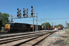 CSX 5482 (CC 8039) Tags: csx ihb bnsf trains es44ac sd70m ac44cw genset sd38 sd40 dolton illinois
