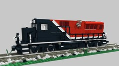 NH BL20GH test (swoofty) Tags: lego train brookville bl20gh