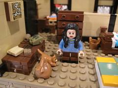 Diary of Anne Frank (BrickForge) Tags: brickforge ww2 worldwar german