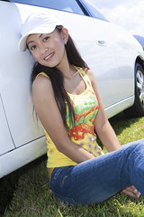 20050904_034 (ChrisandMei) Tags: mei pretty chinese asian woman girl feminine femme fille attractive sweet cute beauty lovely amateur wife gorgeous beautiful glamour hair 女孩 女人 mujer niña женщина hat jeans denim