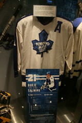 IMG_3249 (Mark Whitmarsh Photography) Tags: icehockey halloffame icehockeyhalloffame hockey canadasgame skates sticks pucks jersey museum sport toronto canon canoneos400ddigital canoneosdigital400d daytrip day stadium city citylife canada halloween train railways skyline skyscraper rain wet blue jays bluejays gobluejays