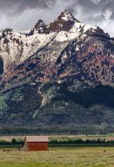 Grand Tetons (Reggie Root) Tags: grandtetons jacksonhole wyoming landscape