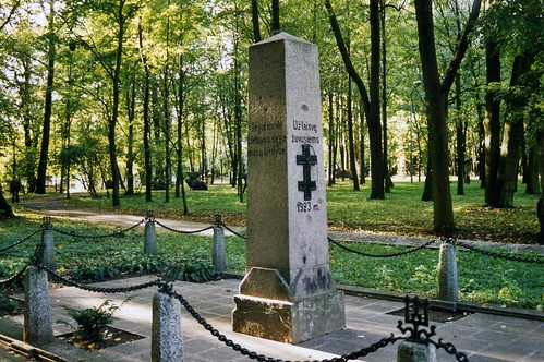 Klaipeda Lithuania 1923 Memorial - Už laisvę žuvusiems. Sept 2003 ...