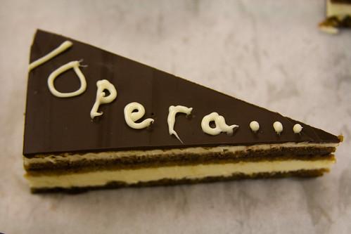Triangle Opera Cake