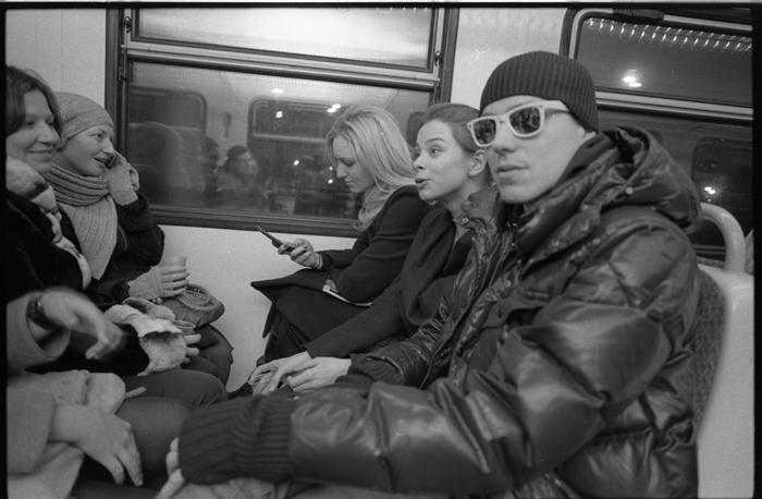 Декабрь, Барвиха - Москва. Артпоезд 2009.